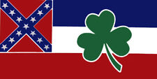 Wholesale Lot of 6 Ireland Irish Shamrock State Mississippi Decal Bumper Sticker
