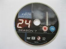 24 - Season 7 Disc 4 - 8.00pm to 12.00am - DISC ONLY (DS) {DVD}