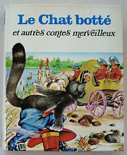 Le Chat Botté ill BENVENUTI CATTANEO FERRI MARAJA.. éd Livre de Paris / Hachette