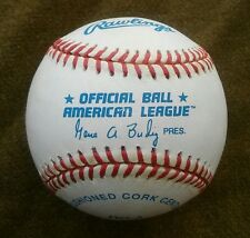 American League GENE BUDIG Rawlings Baseball Official Ball