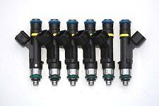 6 - EV14 1000cc Fiveo Fuel Injectors Flow Matched Pump Oxy Gas E85 MTBE Methanol