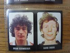 1979/1980 Football Sticker 79/80: 420) Dundee - Brian Scrimgeour & 437) Dundee U