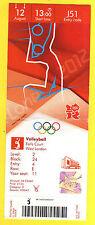 Orig.Ticket     Olympische Spiele LONDON 2012 - VOLLEYBALL FINALE  !!  SELTEN