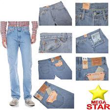 Levis 501 Herren Jeans nagelneu alle Farben und Größen (Original NEU mit Etikett)