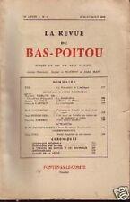 LA REVUE DU BAS POITOU ETE 1959