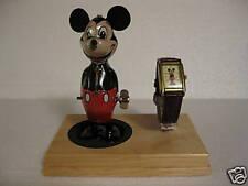 Mickey Watch & Tin Replica of Wind-Up Mickey Mouse  NIB