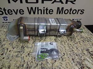 10-14 Dodge Ram Trucks New EGR Cooler 6.7L Cummins Turbo Diesel Mopar Factory Oe