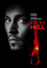 From Hell (2 DVD, 2007, Director's Limited Edition ) w/ Johnny Depp