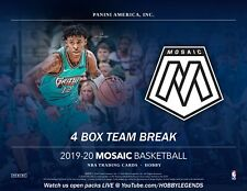 SAN ANTONIO SPURS 2019/20 MOSAIC HOBBY 4 Box TEAM Break #3
