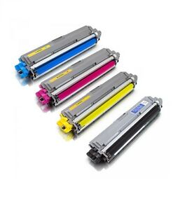 4 Colour Set TN241, TN245 Toner Cartridges for Brother HL3140CW 3150CDW 3170CDW