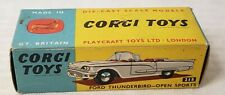 Corgi 215 Ford Thunderbird Convertible Complete with Original Box