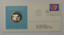 1975 Postmasters Of America Commemorative Silver Medal International Womens Day