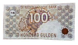 100 Gulden Niederlande Netherlands Holland 1992