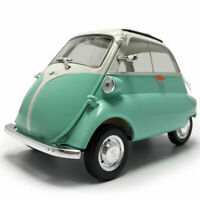 1:18 Vintage 1955 BMW Isetta Model Car Diecast Vehicle Collection Gift Green