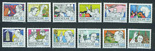 VATICANO VATICAN 1984-1985 MNH SC.737/748 John Paul II journeys