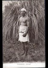 ETHNIQUE (MADAGASCAR) HOMME BETSILEO période 1920-1930