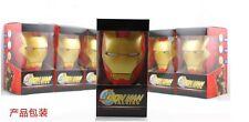Iron Man Night Light 3 in 1 Lamp Creative Design Money Bank & Voice Imitate