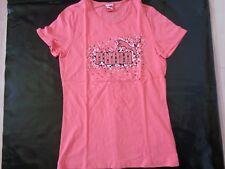 tee-shirt PUMA rose 14 ans NEUF jamais porté, juste lavé