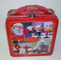 Rudolph The Red Nosed Reindeer Metal Lunchbox