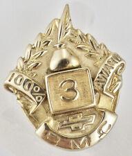 Vintage 10K Yellow Gold BMA General Motors 3 Year 100% Award Pin