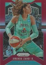 2020 WNBA PANINI PRIZM AMANDA ZAHUI B. * RED PRIZM PARALLEL CARD 026/275 LIBERTY