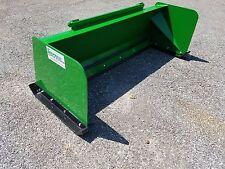 6' Low Pro John Deere snow pusher box FREE SHIPPING