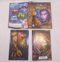 Jackette, catalogue et manuel du jeu WORLD OF WARCRAFT standart edition wow