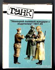 TANK MODEL T-35024 - GERMAN FELDAENDARME WITH DRIVER 1941-45 - 1/35 RESIN KIT