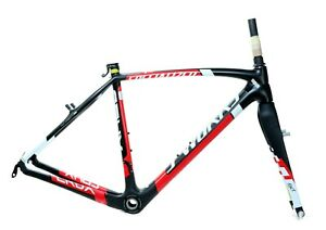 2013 Specialized S-WORKS CruX Carbon Frameset Canti Brake 52cm CycloCross NEW