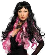 Fantasy Wig Long Curly Emo Punk Vampire Halloween Costume Accessory 3 COLORS