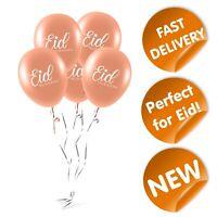 Eid Mubarak Balloons (Pack of 10) Rose Gold - Mubarak Memories - Eid Celebrate
