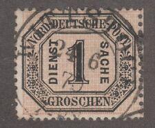KAPPYSSTAMPS 4025 GERMANY NORTHERN DISTRICT  SCOTT # O6 USED CATALOG - $225
