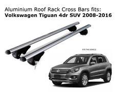 Aluminium Roof Rack Cross Bars fits Volkswagen Tiguan 2008-2016