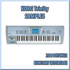 KORG Trinity samples 200 Patches for Kontakt NKI / WAV  *** Download ****