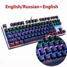 Metoo Edition Mechanical Keyboard 87 keys Blue Switch Gaming Keyboards