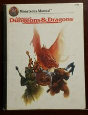 AD&D Monstrous Manual 2nd Ed Hardcover TSR 1993 #2140 Dungeons Dragons