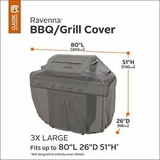 BBQ Grill Cover Premium with Reinforced Fade-Resistant Fabric, XXX-Large, 80-In