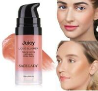 Makeup Liquid Blush 6 Colors Face Rouge Make Up Professional Natural Cheek Blush