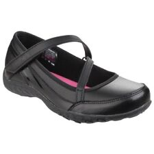 $245 Skechers Kids Girls Black Breathe Easy Athletic Sneakers Shoes Mismatch 5.5