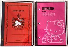 Lot of 2, Sanrio Hello Kitty Notebook