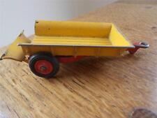 Vtg CORGI Toys MASSEY FERGUSON 30 cwt TRAILER Diecast Tinplate Farm Vehicle