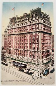 Vintage The Knickerbocker Hotel New York City NYC 1910's