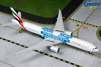 "Gemini Jets 1:400 Emirates 777-300ER ""Blue Expo 2020"" A6-EPK GJUAE1834 IN STOCK"