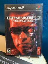 Terminator 3 Rise Of The Machines Playstation 2 PS2 Game Complete Free Ship