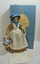 Faith Wick Susanna Porcelain Doll by Dakin in Box with Paperwork