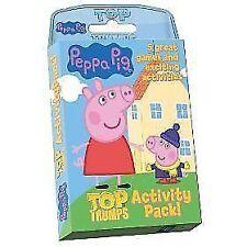Top TRUMPS Peppa Pig Activity Pack 014018