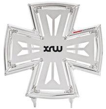 Raptor 660 YFM Front Bumper Maltese Cross Polished Silver 2001-2006 XRW X7 Bash