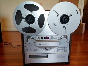 AKAI GX-747 Reel to Reel Tape Recorder in Original Box with Cover - Beautiful