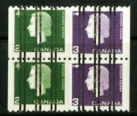 Canada Stamps # 406-7 VF OG NH Pre-Cancel Pairs