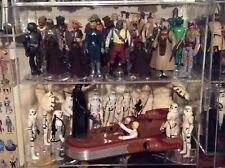 "Action Figure Acrylic Display Case Cabinet 3-3/4"" Star Wars G.I. Joe"